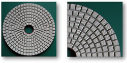 3 Step Engineered Stone Polishing Pad