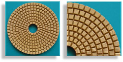 3 Step Wet Polishing Pad
