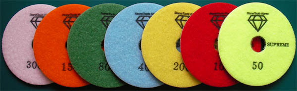 Wet Polishing Pads Supreme Made By Rm Tech Korea
