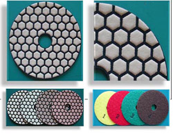 4 Step Dry Polishing Pad