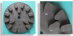 Radial Arm Polishing Resin Plate