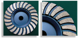 Turbo Grinding Cup Wheel Spiral Segment